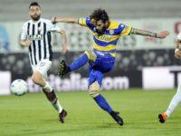 L'Ascoli perde al Del Duca contro il Parma ( 0-1) e torna a scendere in classifica. Salvezza piu complicata