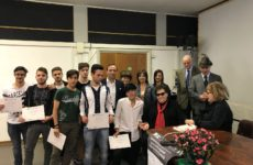 Pietre della Memoria. Anmig premia studenti ITI Fermi di Ascoli per lavoro su eroe guerra Giacomini