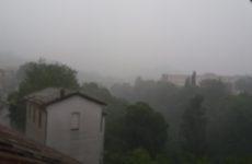 Nubifragio sull'Ascolano, massima allerta per il livello dei fiumi e gli invasi.