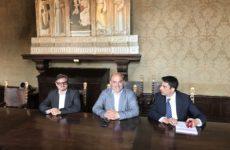 """Lo chef stellato Davide Oldani """"si racconta"""" ad Osimo in attesa del Giro d'Italia"""