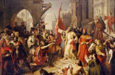 """""""Il giuramento degli Anconetani"""" torna al suo splendore nella Pinacoteca Podesti dopo il restauro"""