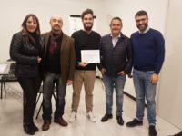 Simone Marcelli e altri dirigenti della Conflavoro Ascoli Piceno