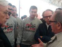 diego della valle con il sindaco Petrucci