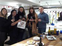 Fiorella Ciaoboco con gli svedesi a Milano