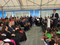 Conte inaugura nuova scuola di San Severino Marche. Ricostruzione post-sisma con percorsi diversi
