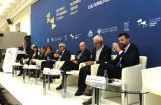 Macerata e lo Sferisterio al Forum della Cultura di San Pietroburgo. Accordi internazionali