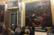 Trenta studiosi da tutto il mondo in visita alla mostra su Lotto. Visitatori in crescita