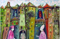 Iacomucci tra i dieci artisti invitati alla mostra dei Cavalieri della Repubblica, a Spello
