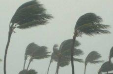 Improvvisa bufera di vento e grandine sull'Ascolano