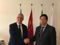 Marche-Cina, crescono opportunità con volo Ancona-Shanghai. Ceriscioli incontra il Console Cinese
