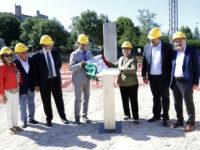 Ania finanzia la nuova scuola di Sarnano. Partiti i lavori