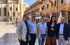 """Maria Grazia Cucinotta ad Ascoli per il film """"Il gatto e la luna"""""""