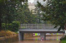 Bomba d'acqua ad Ascoli. Allagamenti, frane e danni ingenti