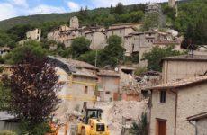Approvati i piani attuativi per la ricostruzione di Castelsantangelo sul Nera