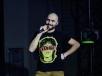 "Weekend a Spinetoli con i Meganoidi, Fabio Celenza e il cantante ""operaio"""
