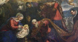 """A Macerata restaurata la """"Adorazione dei Magi"""" di Tintoretto"""