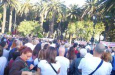 """San Benedetto, mille in piazza per """"salvare"""" l'ospedale cittadino"""