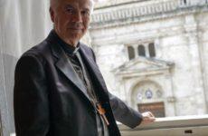 Clonata card postale del Vescovo di Ascoli