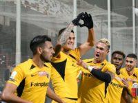 L'Ascoli pareggia 1-1 a Salerno e resta in zona play off