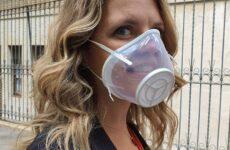 E' marchigiana la prima mascherina trasparente e sostenibile