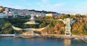 Ancona, riapre la terrazza dell'Ascensore al Passetto