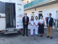 Castel di Lama, Ceriscioli e Casini inaugurano Rsa Sanitas e camper sanitario