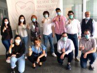 Video-assistenza per pneumologia Ancona, donazione degli universitari
