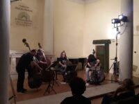 Delizioso concerto di contrabbassi ad Ascoli