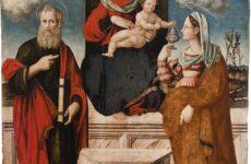 """Fermo, parte il restauro della """"Madonna con il bambino"""" di Pagani"""