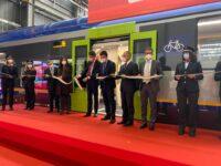 Nuovo treno in servizio tra Ancona, Fabriano e Macerata