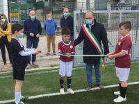 Nuovo campo sportivo a Folignano