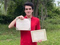 Da Pesaro agli States : il successo del liceale Simone Severini