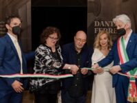 """Macerata, Dante Ferretti inaugura la mostra """"Effimero per errore"""""""