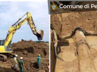 Pesaro, riparato l'acquedotto : si va verso la normalità