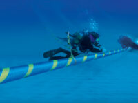 subacqueo, Terna, posa cavo, 2013, cavo sottomarino, Italia-Montenegro