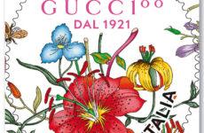 Da Poste Italiane un francobollo dedicato alla Maison Gucci